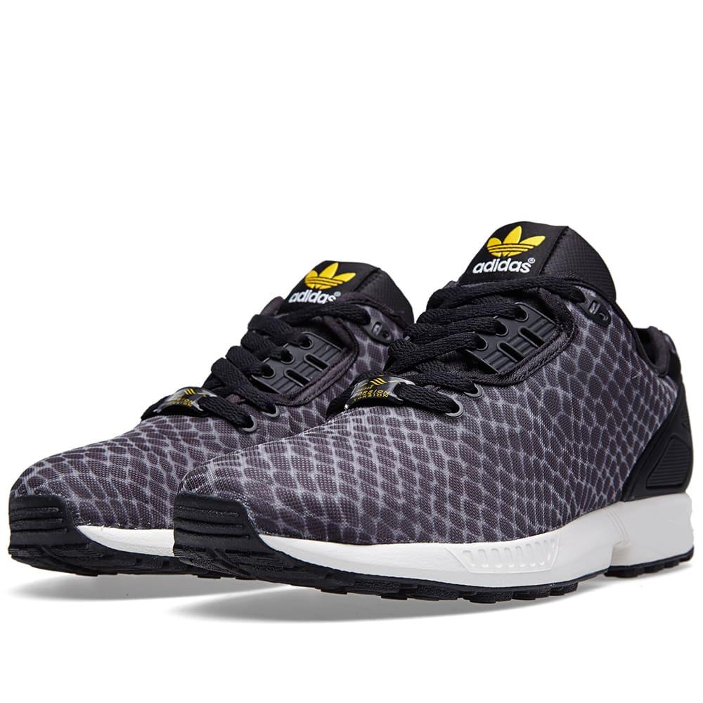 adidas zx flux violet et noir