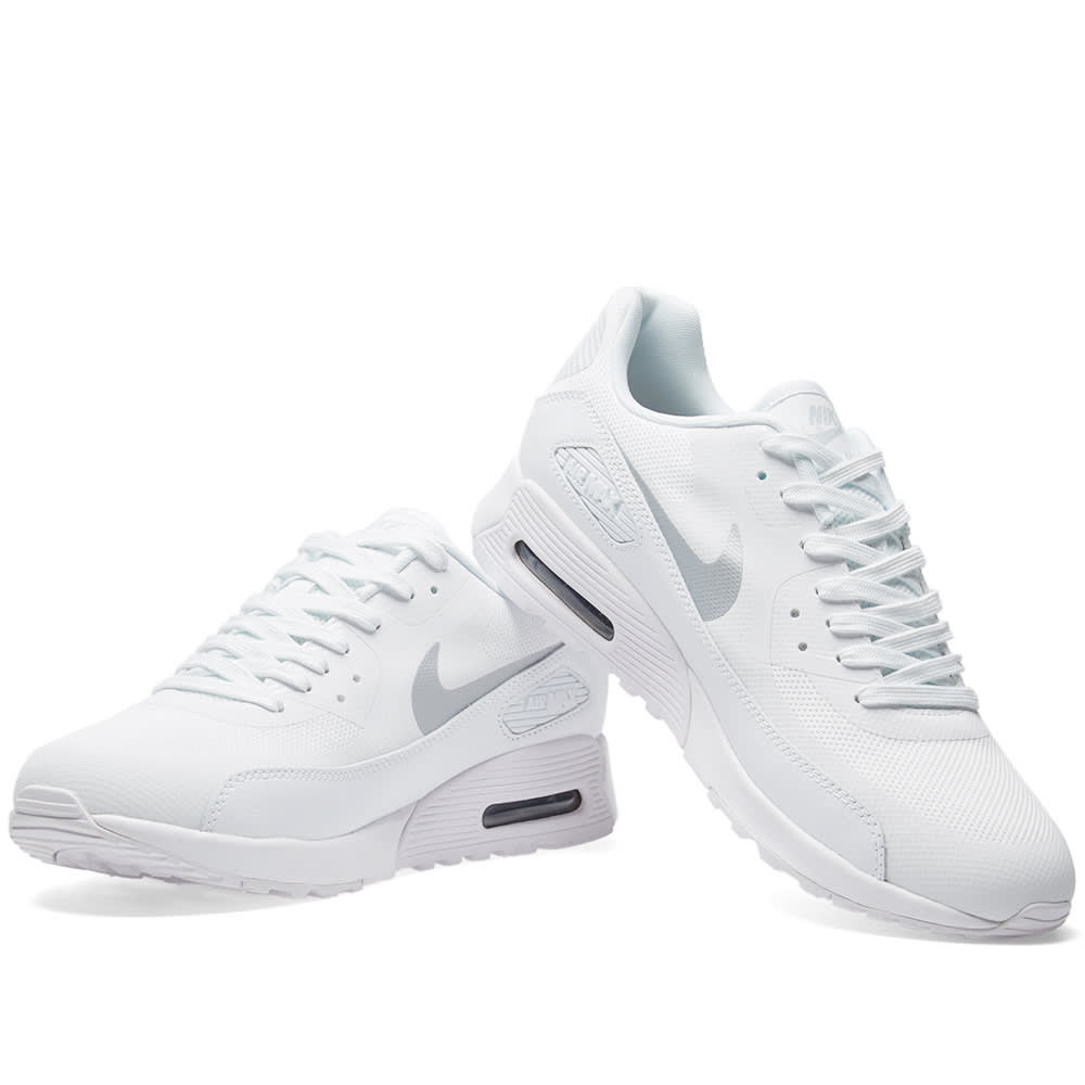 19c8dff3c6172 Nike W Air Max 90 Ultra 2.0 White & Metallic Platinum | END.