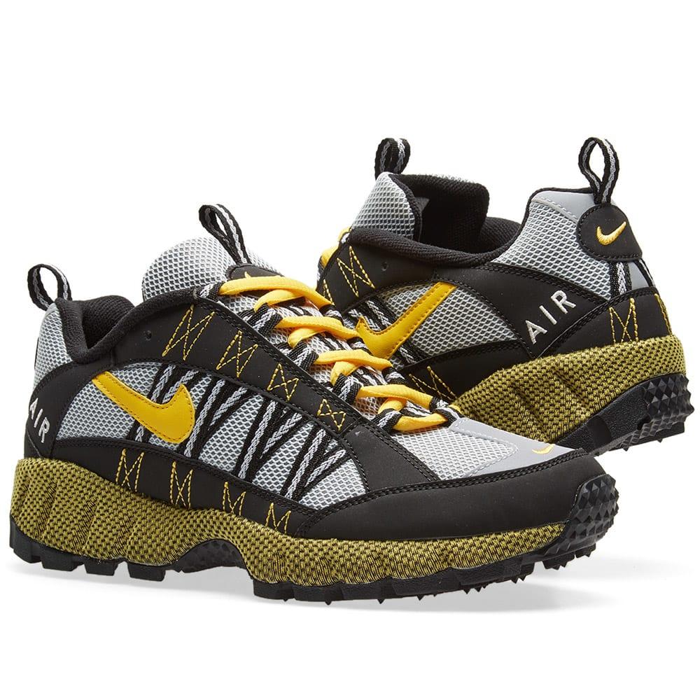 Air Zoom Humara Rubber And Suede-trimmed Mesh Sneakers - BlackNike rfCfer0kUc