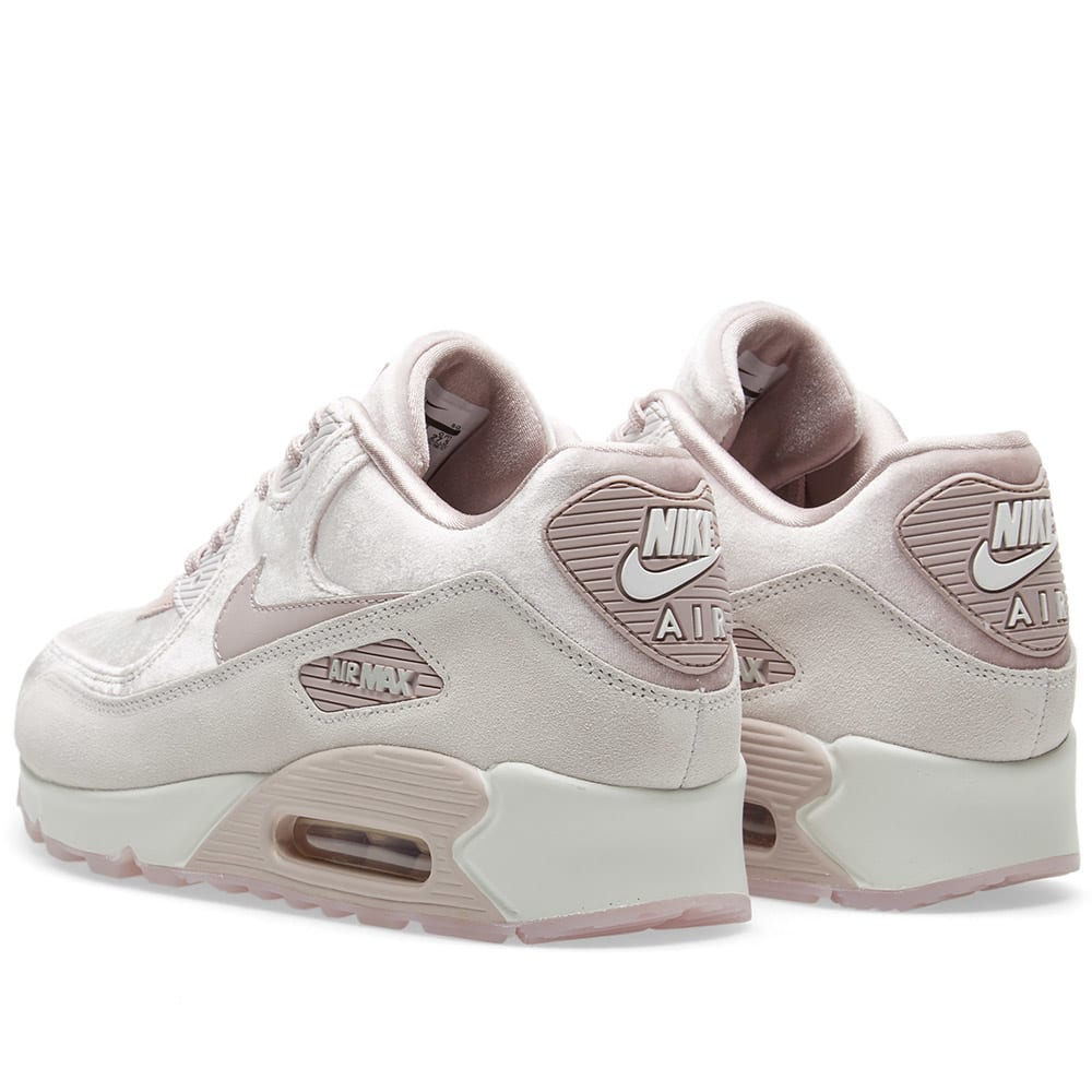 half off 0a9cd 139b5 Nike Air Max 90 LX W Particle Rose, Grey   White   END.