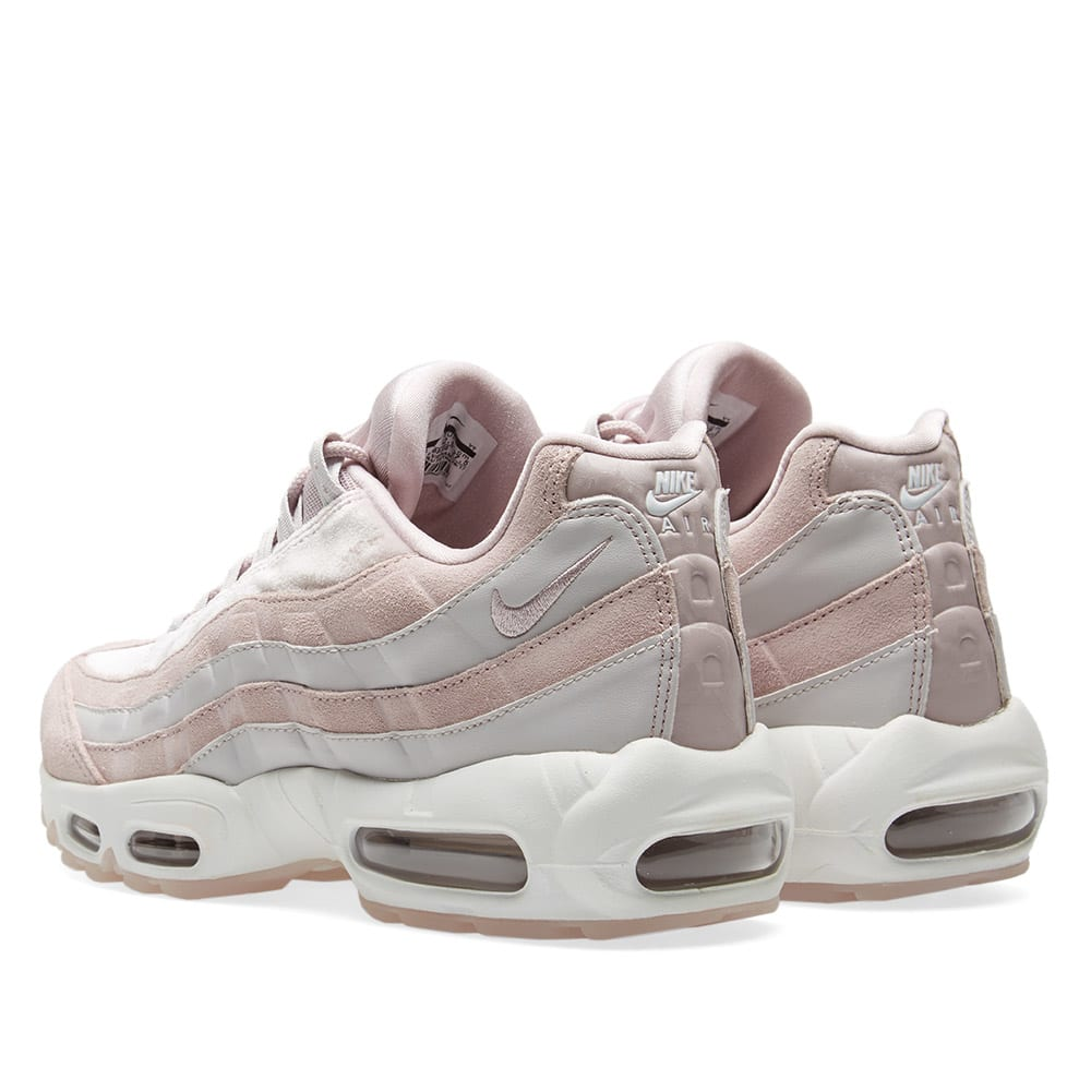 Details about NIKE AIR MAX 95 LX TRAINERS UK 4 EU 37.5 WOMENS AA1103 00 GREY VELVET