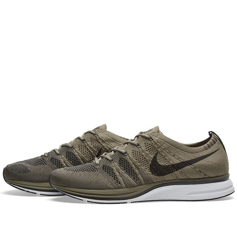 2226136ed340 Nike Flyknit Trainer Medium Olive