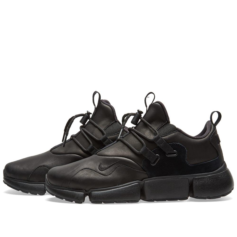 Nike Pocketknife DM Leather Black | END.