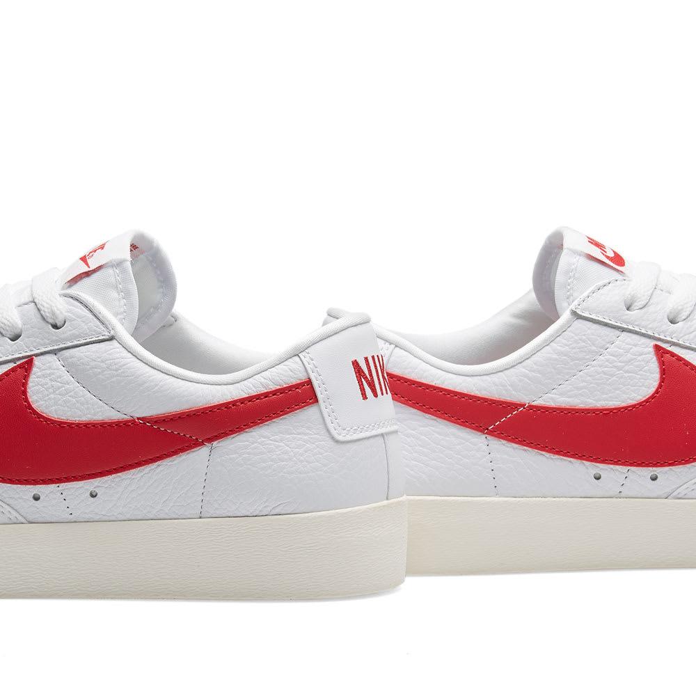 new styles 612e7 30a99 Nike Blazer Low Premium W White, Speed Red   Sail   END.