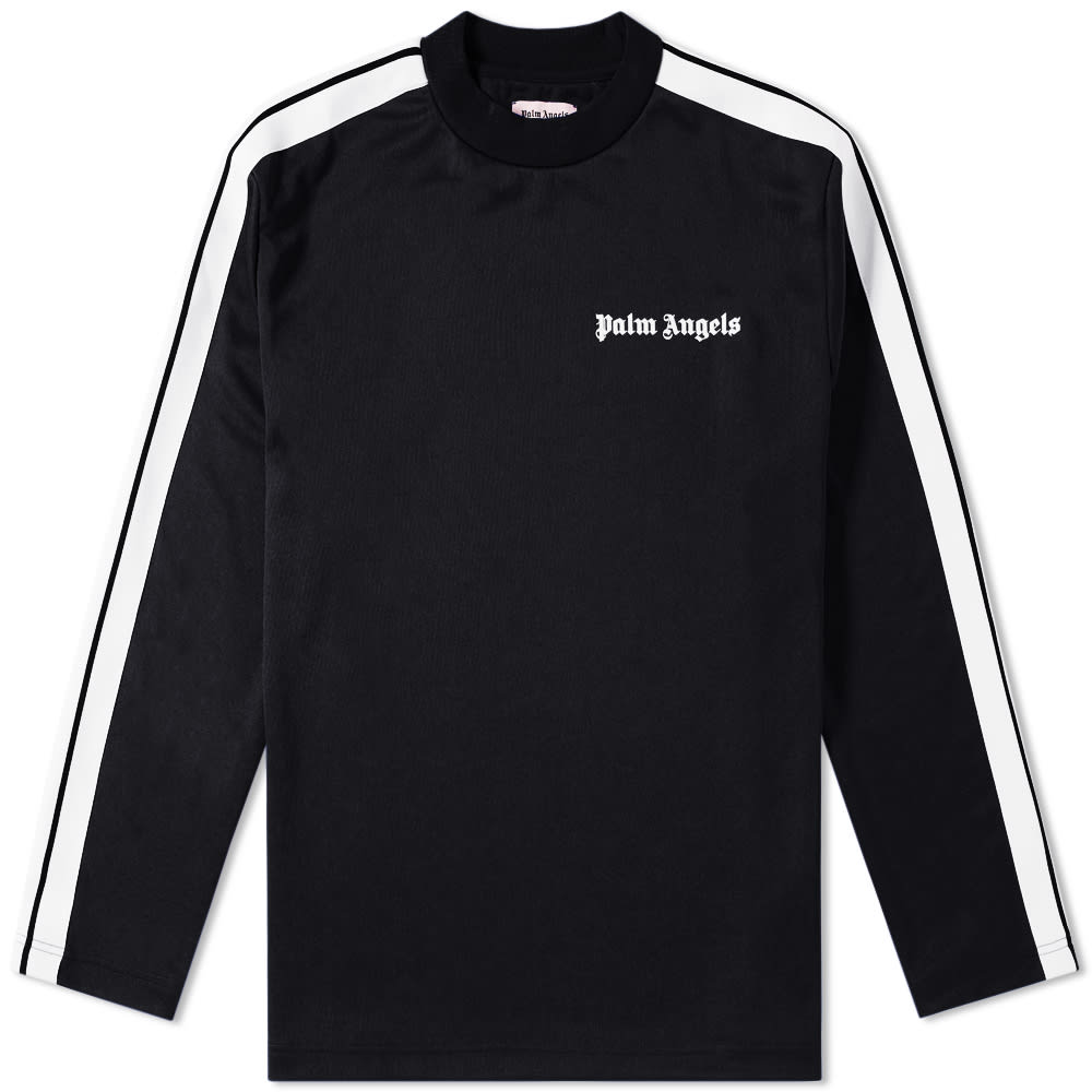 b3dece54 Palm Angels Track Taping Long Sleeve Tee Black | END.