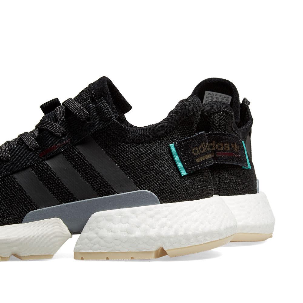 distorsionar Suyo Estallar  Adidas POD-S3.1 W Core Black & Maroon | END.