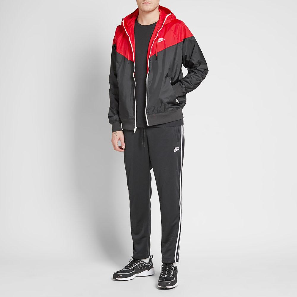Eclipse solar frecuentemente hígado  Nike Windrunner Jacket Black, Red & Sail   END.