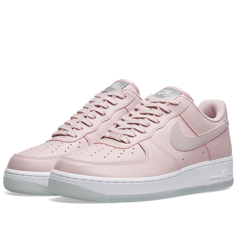 finest selection 8b96a ad9ba Nike Air Force 1  07 Essential W Plum Chalk, White   Metallic   END.