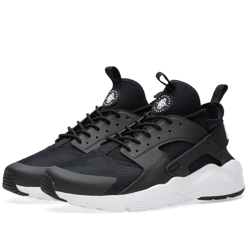 nike air huarache run ultra black white anthracite. Black Bedroom Furniture Sets. Home Design Ideas