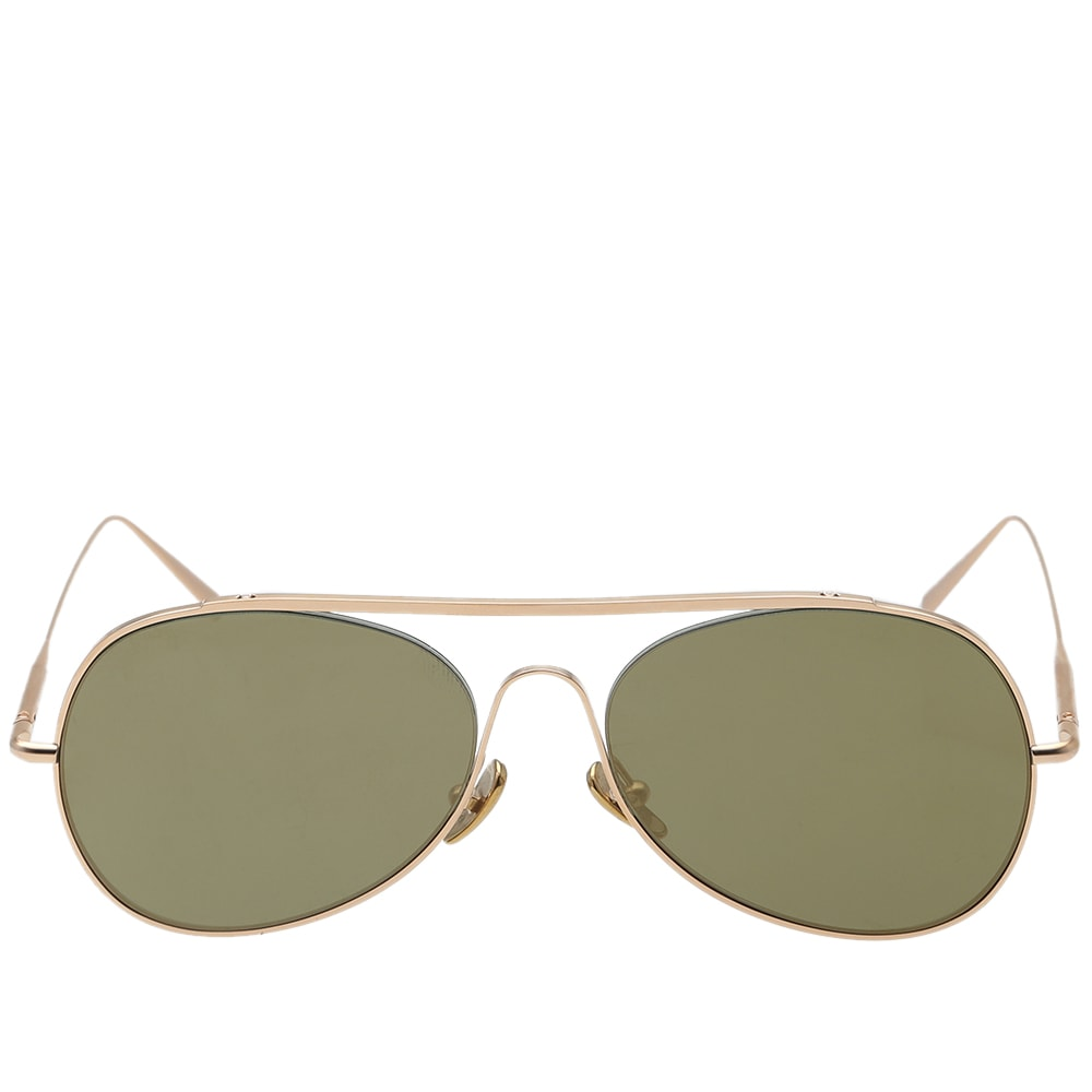 2f32260b5b618 Acne Studios Spitfire Large Sunglasses Gold Satin
