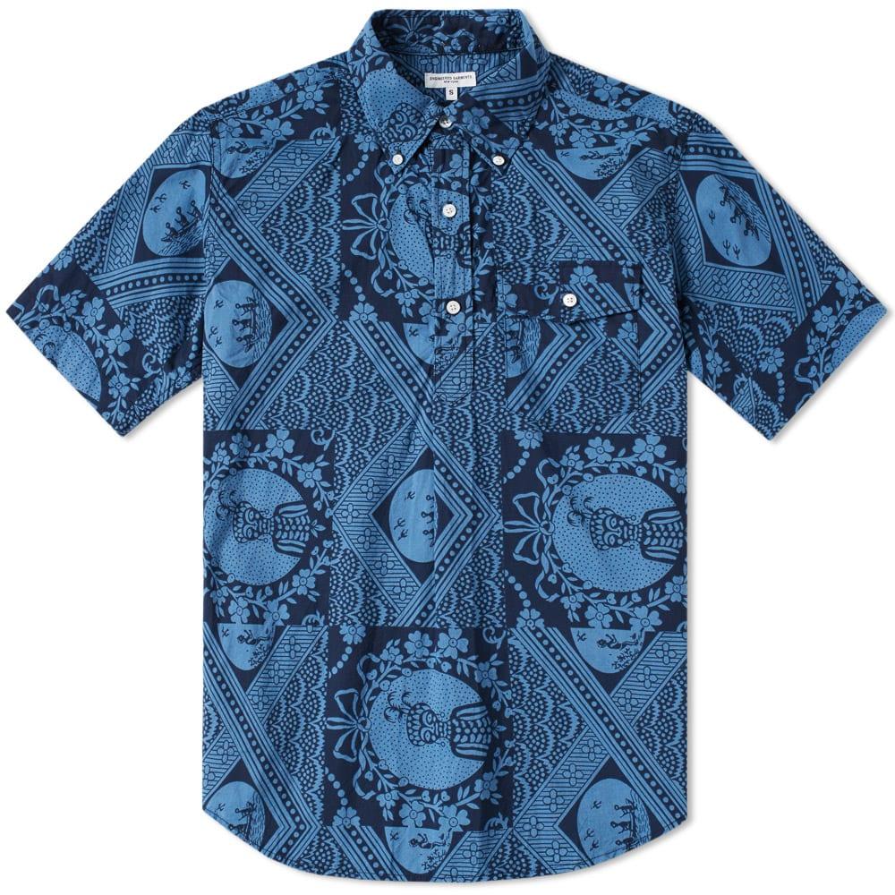 Photo of Engineered Garments Short Sleeve Popover Shirt menswear online
