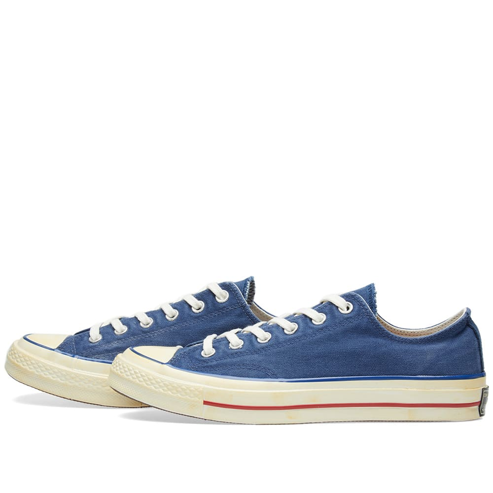 Vintage Navy Blue Converse Skate Shoes Low Top Chuck Taylor