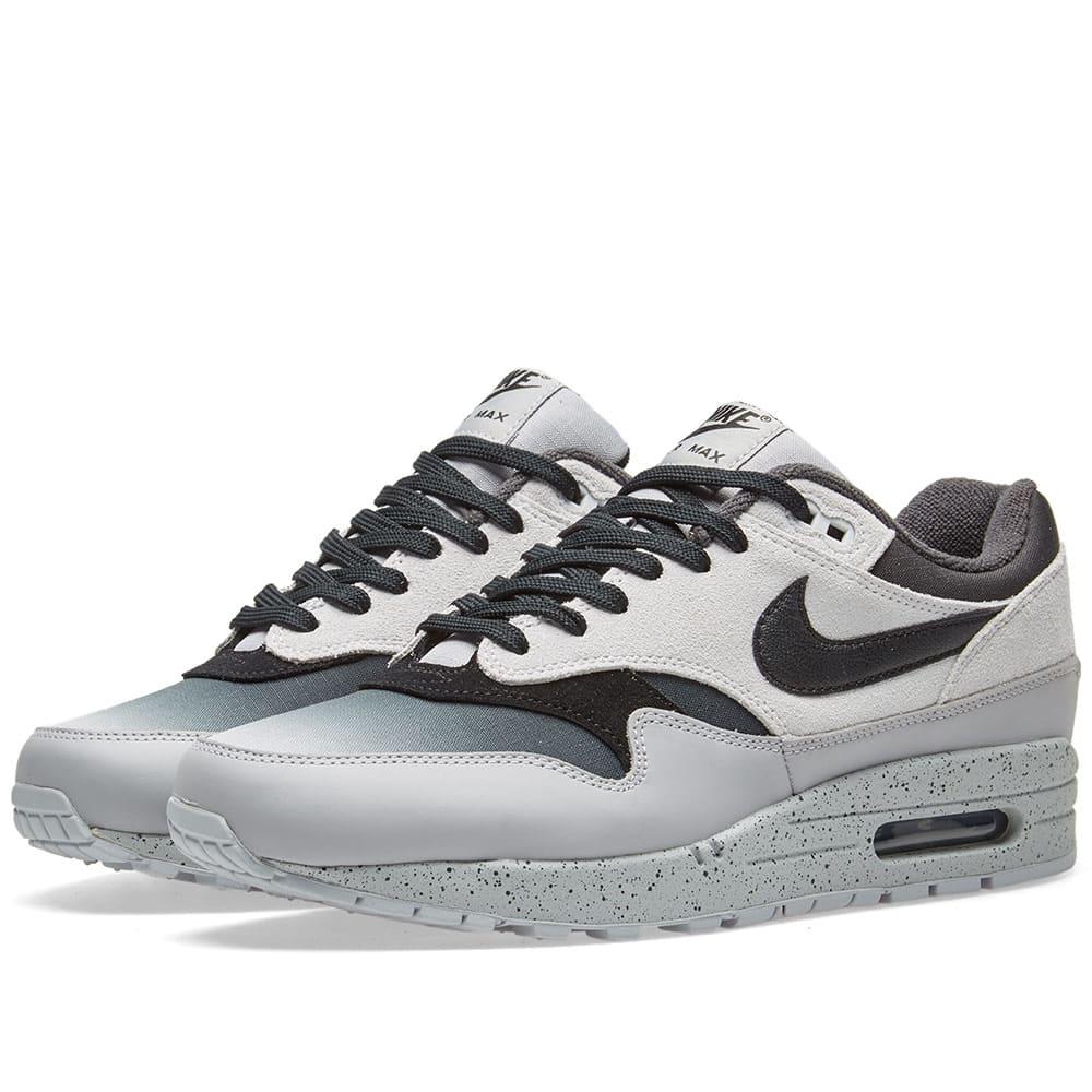 reputable site 2b052 010cf Nike Air Max 1 Premium Pure Platinum   Black   END.