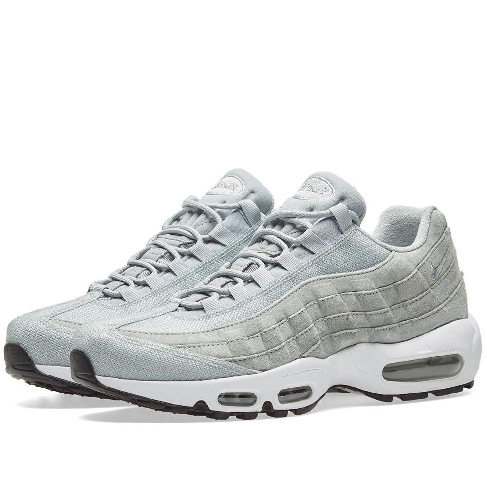 online store ee120 2924e Nike Air Max 95 Premium W Light Pumice   White   END.