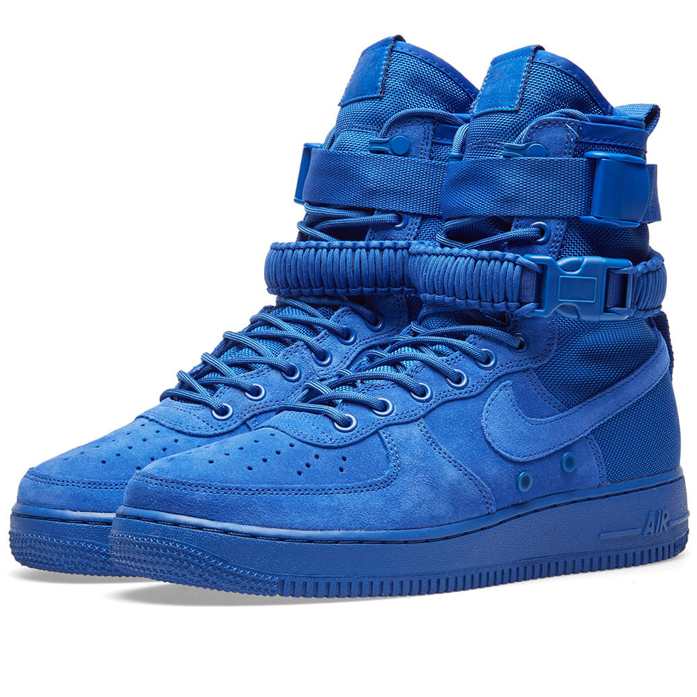 new style 3d998 b394f Nike SF Air Force 1 Hi Boot Game Royal   END.