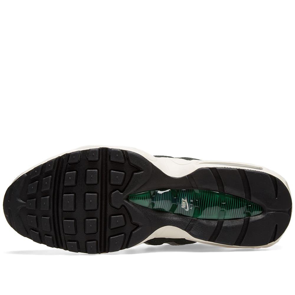 free shipping b0819 7c6f6 Nike Air Max 95 Essential Outdoor Green, Sail   Lichen   END.
