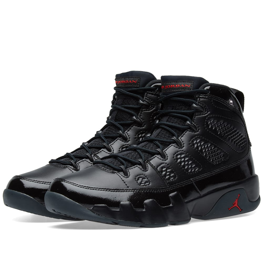 online retailer 16bee fab7b Nike Air Jordan 9 Retro Black, Red   Anthracite   END.