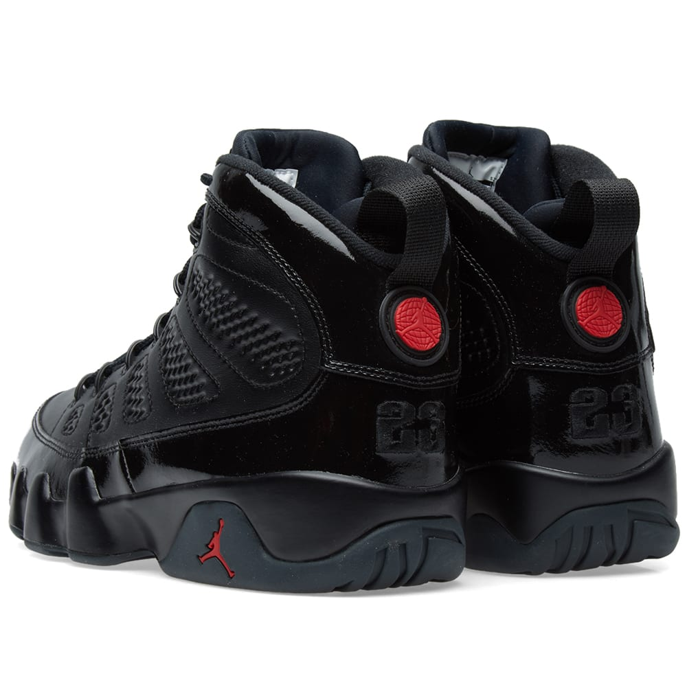 online retailer 26624 a137d Nike Air Jordan 9 Retro Black, Red   Anthracite   END.