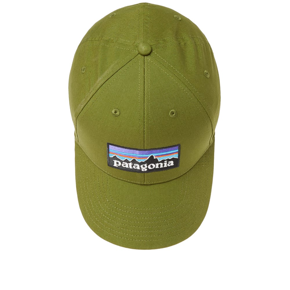 9fb2c71a Patagonia P-6 Logo Stretch Fit Cap Sprouted Green   END.