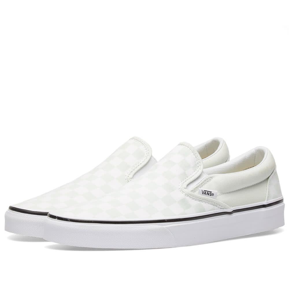 Vans Classic Slip On Checkerboard Blue