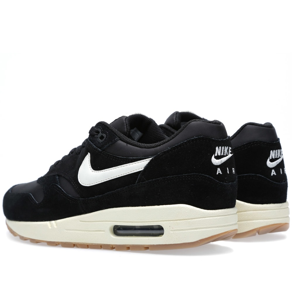 nike air max 1 essential black sail light brown. Black Bedroom Furniture Sets. Home Design Ideas