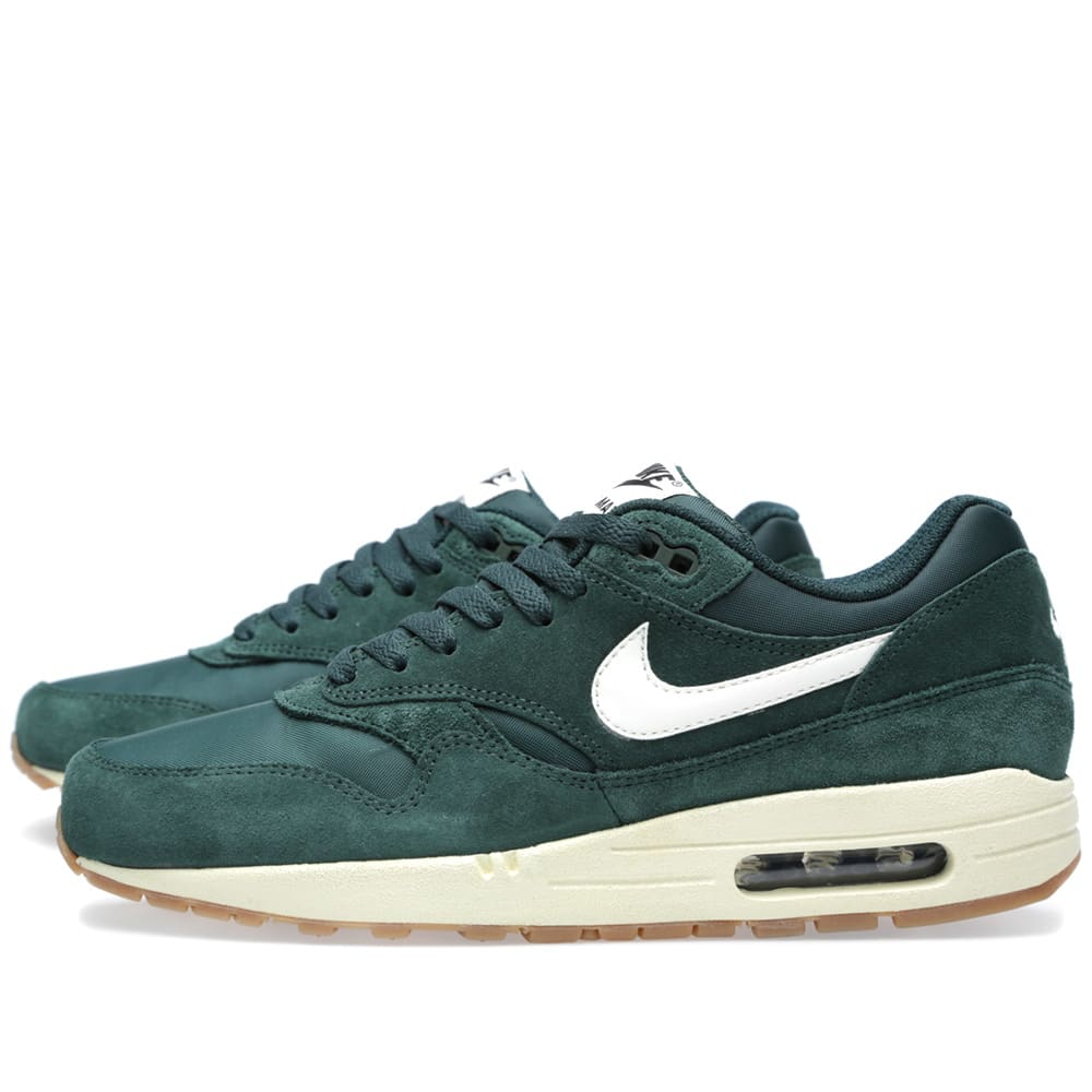 nike air max 1 essential pro green sail black. Black Bedroom Furniture Sets. Home Design Ideas
