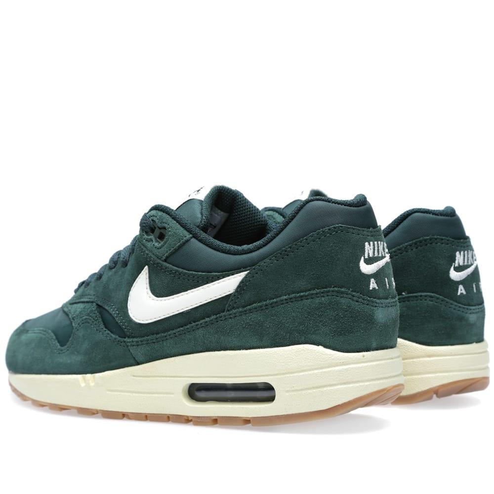 sports shoes 81966 f5e10 Nike Air Max 1 Essential Pro Green, Sail   Black   END.