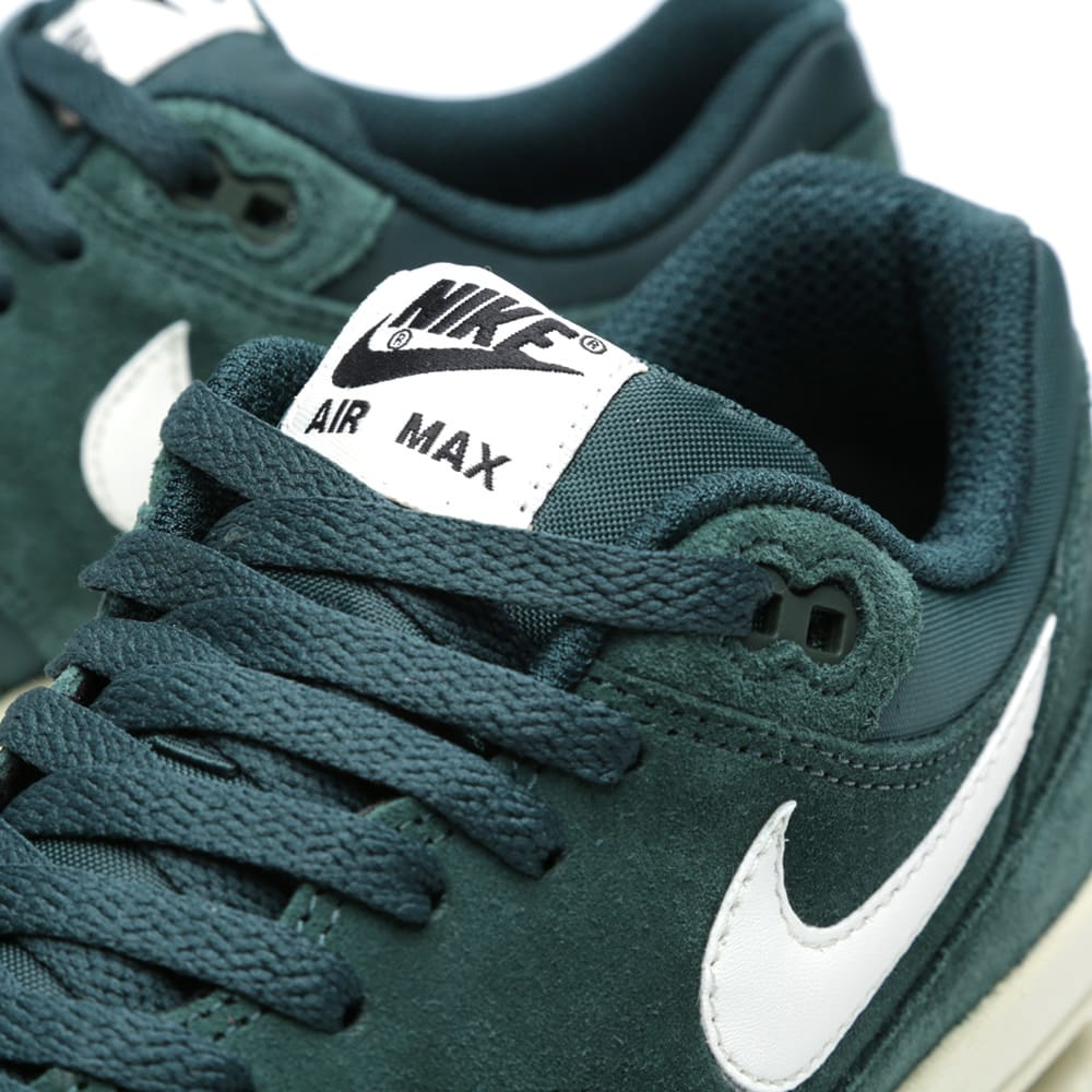 sports shoes e8033 46a38 Nike Air Max 1 Essential Pro Green, Sail   Black   END.
