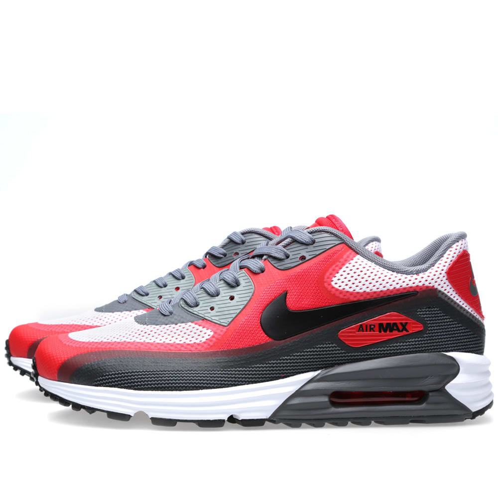 timeless design 26e07 55d45 Nike Air Max Lunar 90 C3.0 White, Black & University Red | END.
