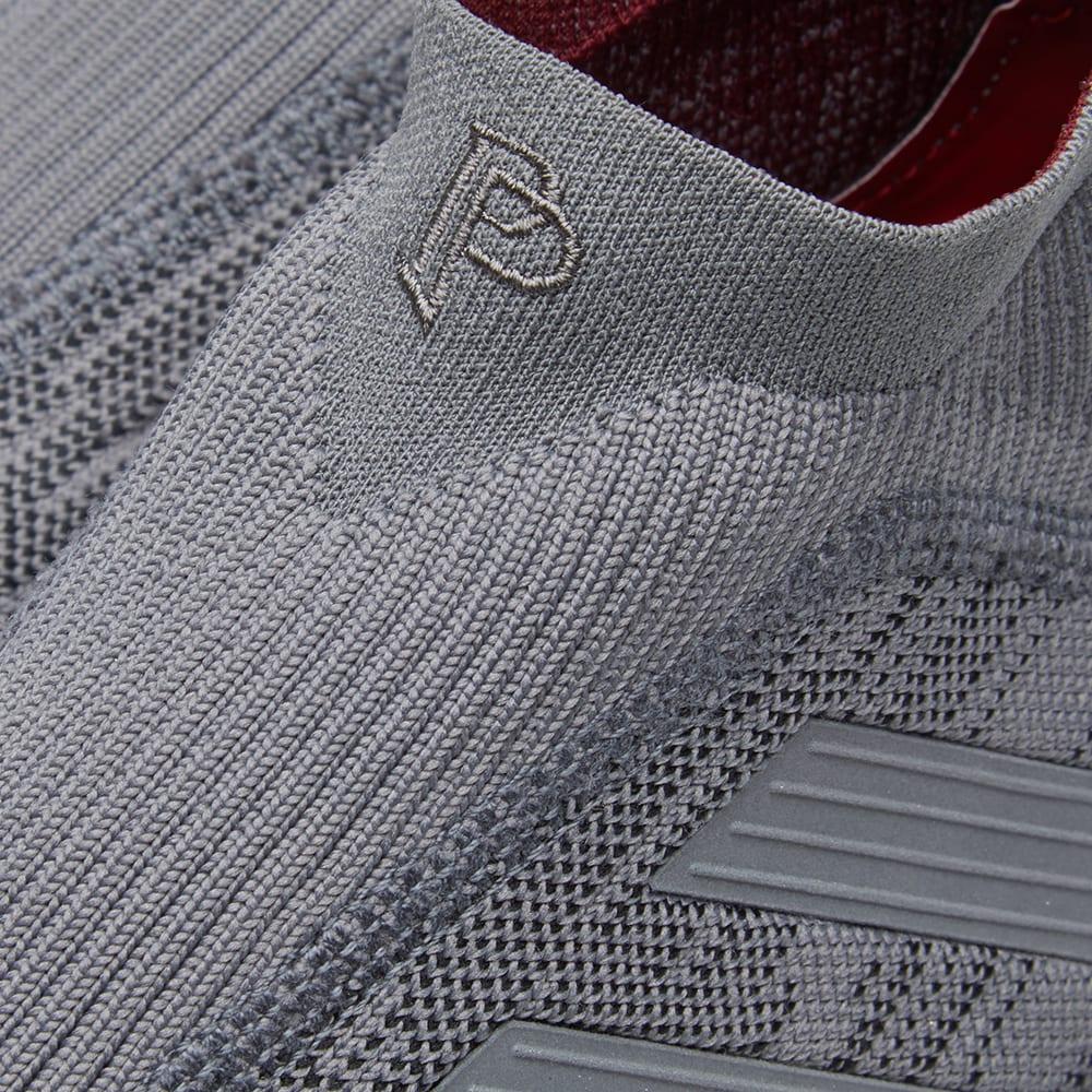 58db0d30c Adidas x Paul Pogba Predator 18+ TR Iron & Burgundy | END.