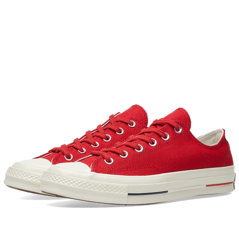 2d79d5bb6e2fe0 Converse Chuck 70  Heritage Court  Gym Red   Navy