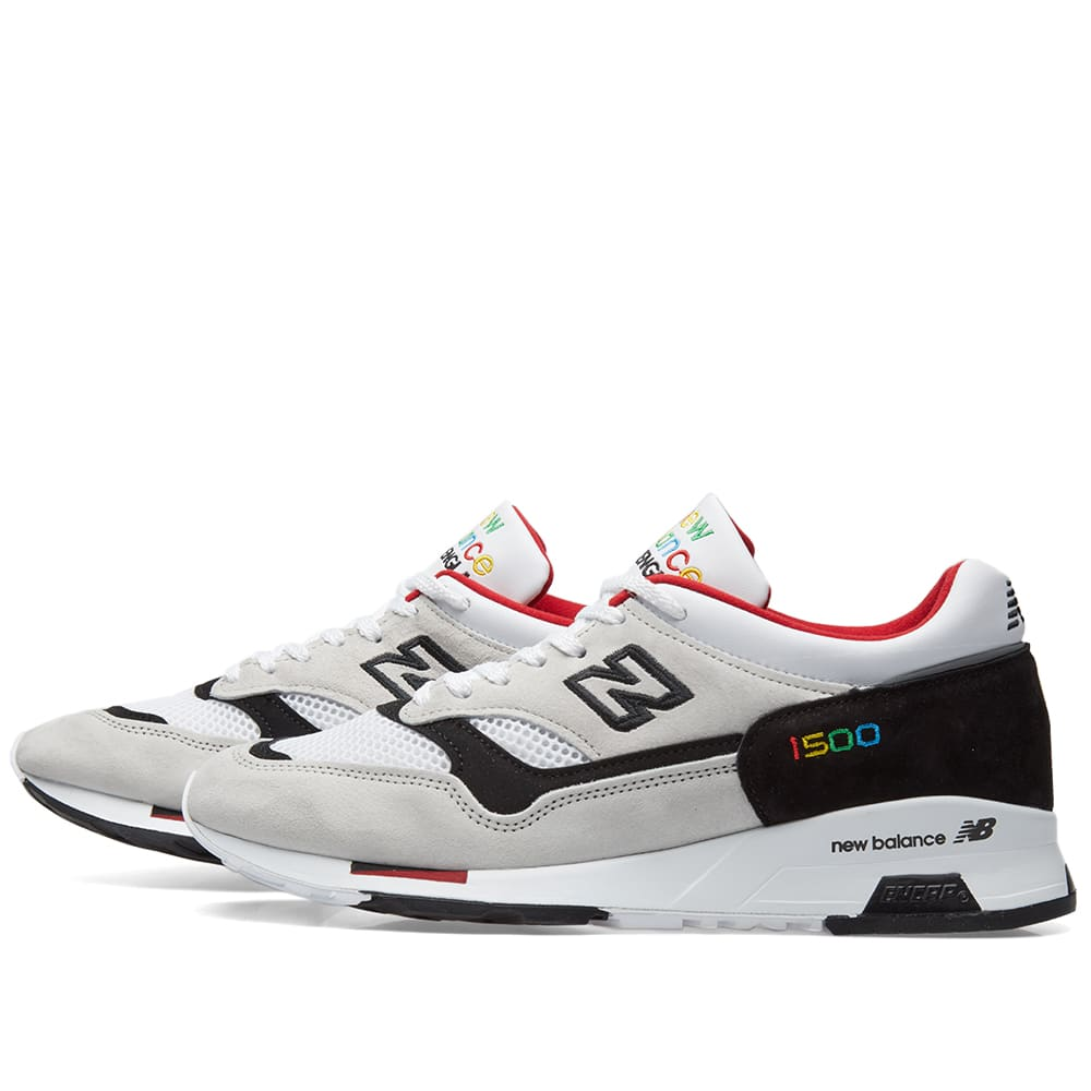 a14b632d55dfa New Balance M1500PWK Colour Prism - Made in England Grey & Black | END.