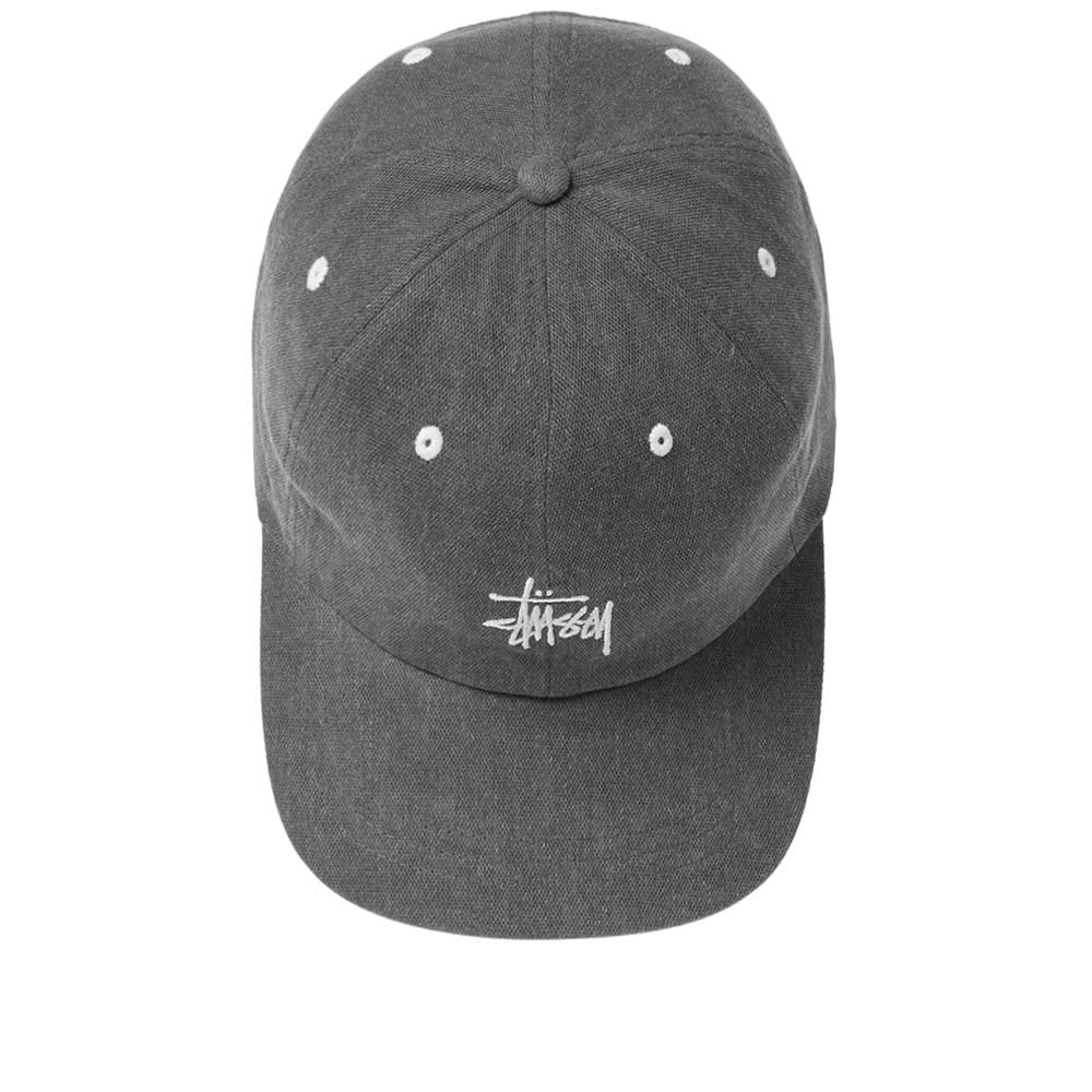e23f41a2240 Stussy Washed Stock Low Pro Cap Black