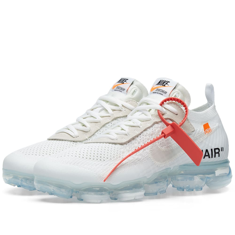 The 10: Nike Air Vapormax Flyknit White