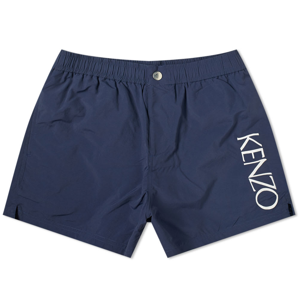 dfb34f744d07e Kenzo Logo Swim Short Midnight Blue | END.