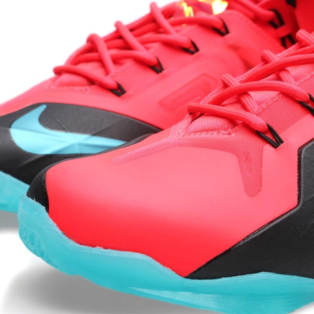 wholesale dealer 4f7c8 50159 Nike LeBron XI Elite  Hero  Laser Crimson   Turbo Green   END.