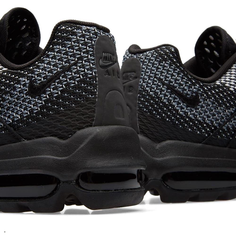new style 640fe 49b67 Nike Air Max 95 Ultra Jacquard Black, White Stealth Grey   END.