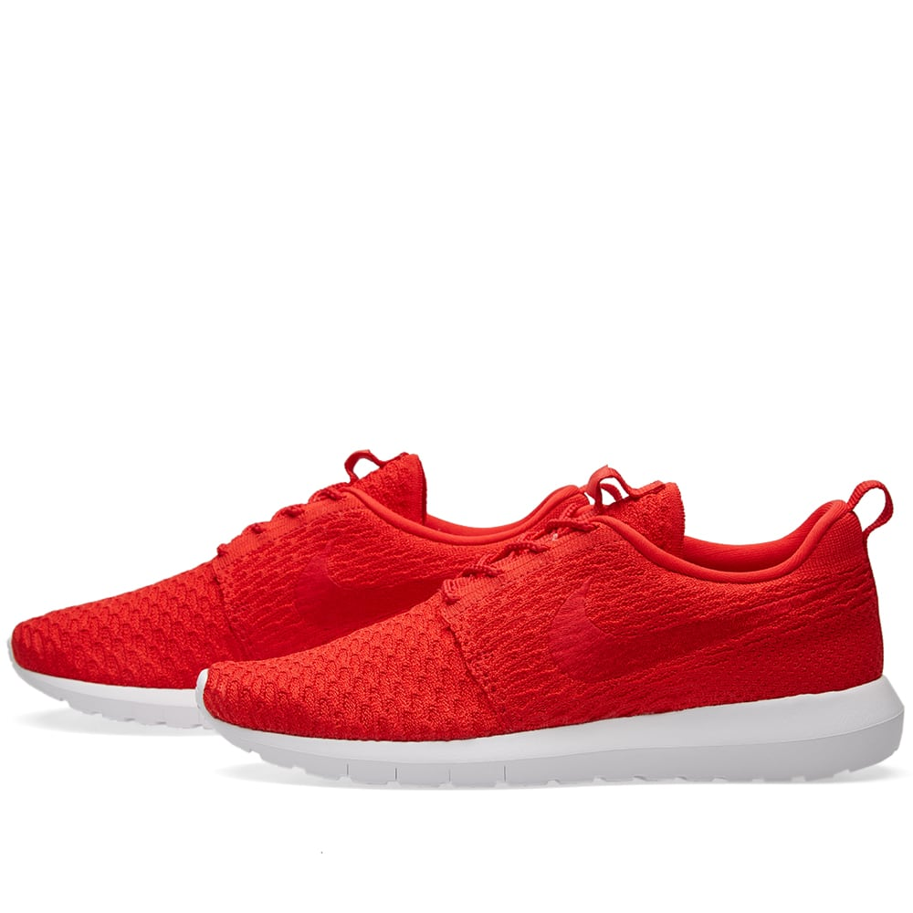 finest selection 55dcb 3007a Nike Roshe NM Flyknit University Red & White | END.