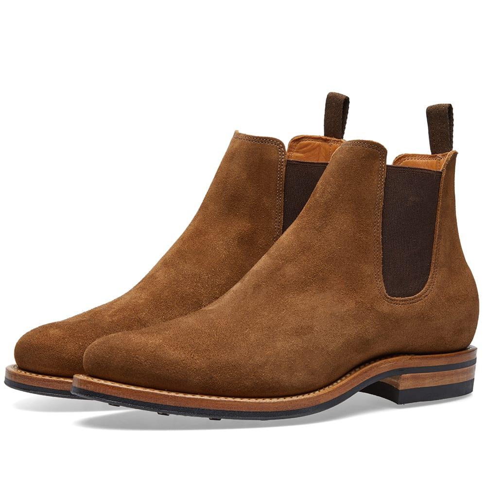 VIBERG Viberg Chelsea Boot in Brown