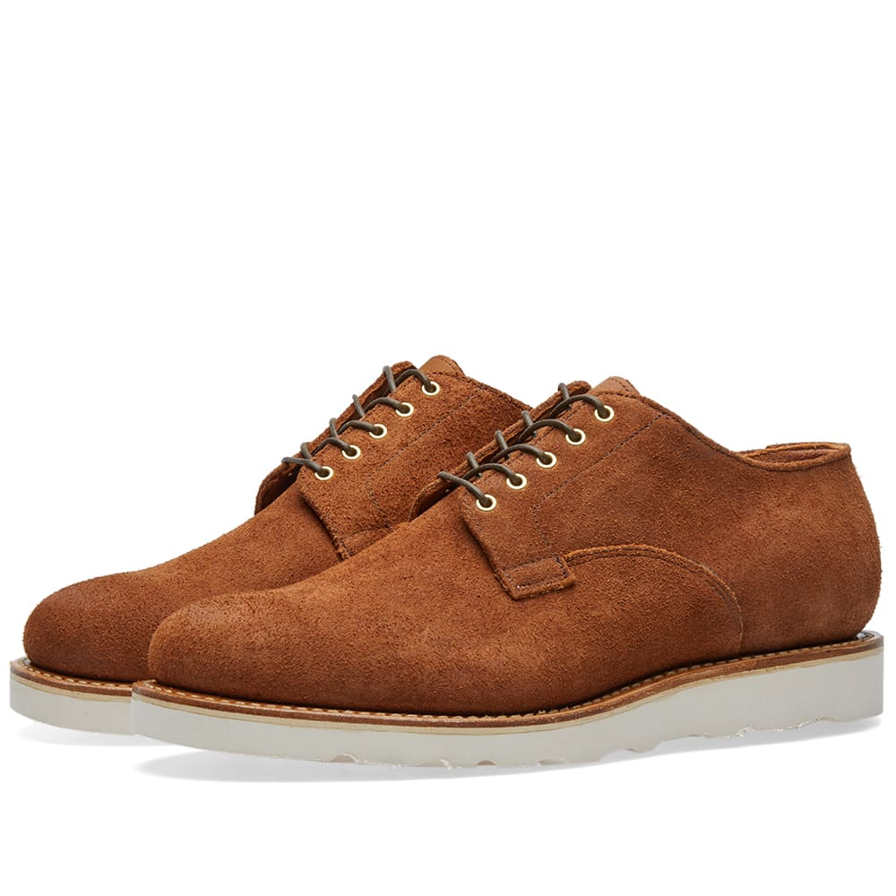 VIBERG Viberg Derby Shoe in Brown