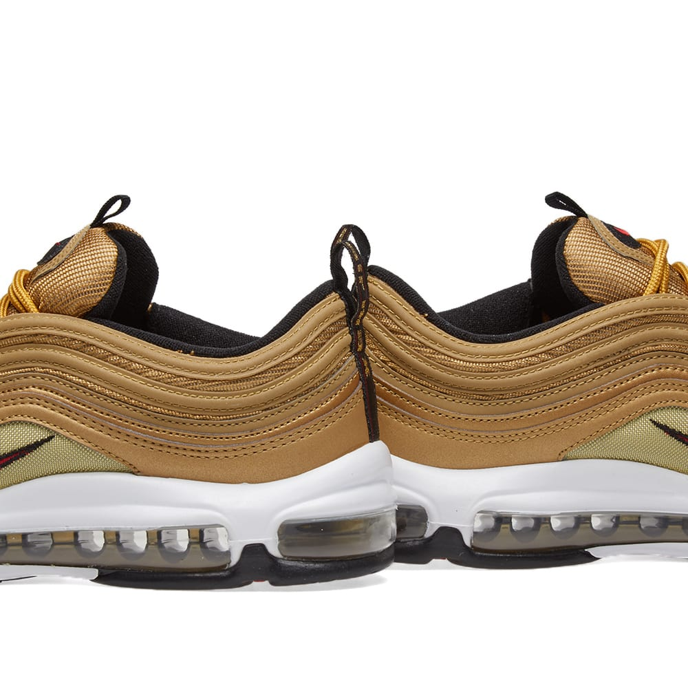6028fce9c3 Nike Air Max 97 OG QS. Metallic Gold ...