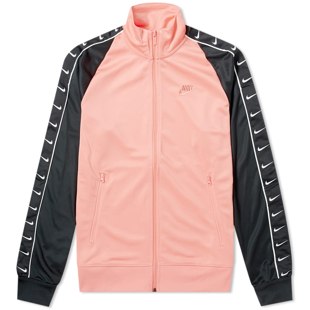 Nike Taped Track Jacket In Pink
