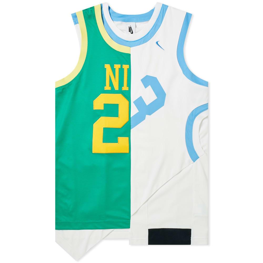 NIKE | Nikelab Collection Basketball Jersey White | Goxip