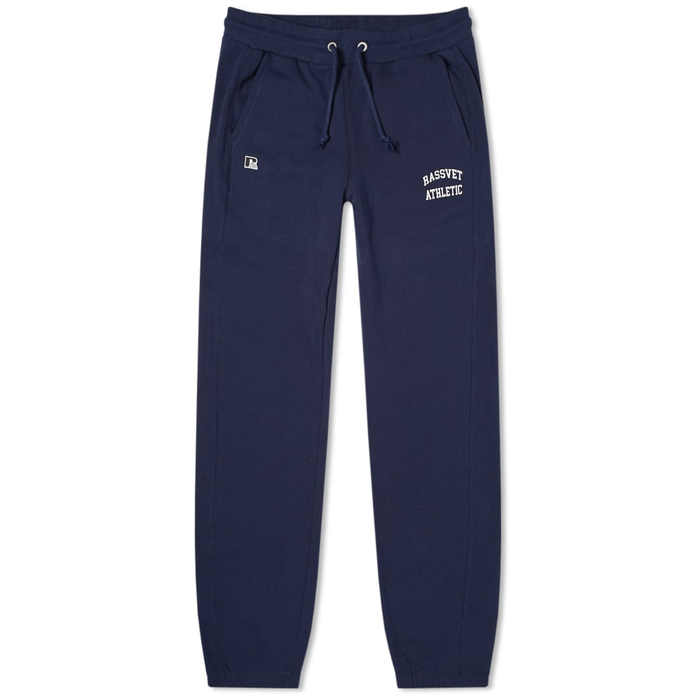 PACCBET | PACCBET X Russell Athletic Sweat Pant Navy | Goxip