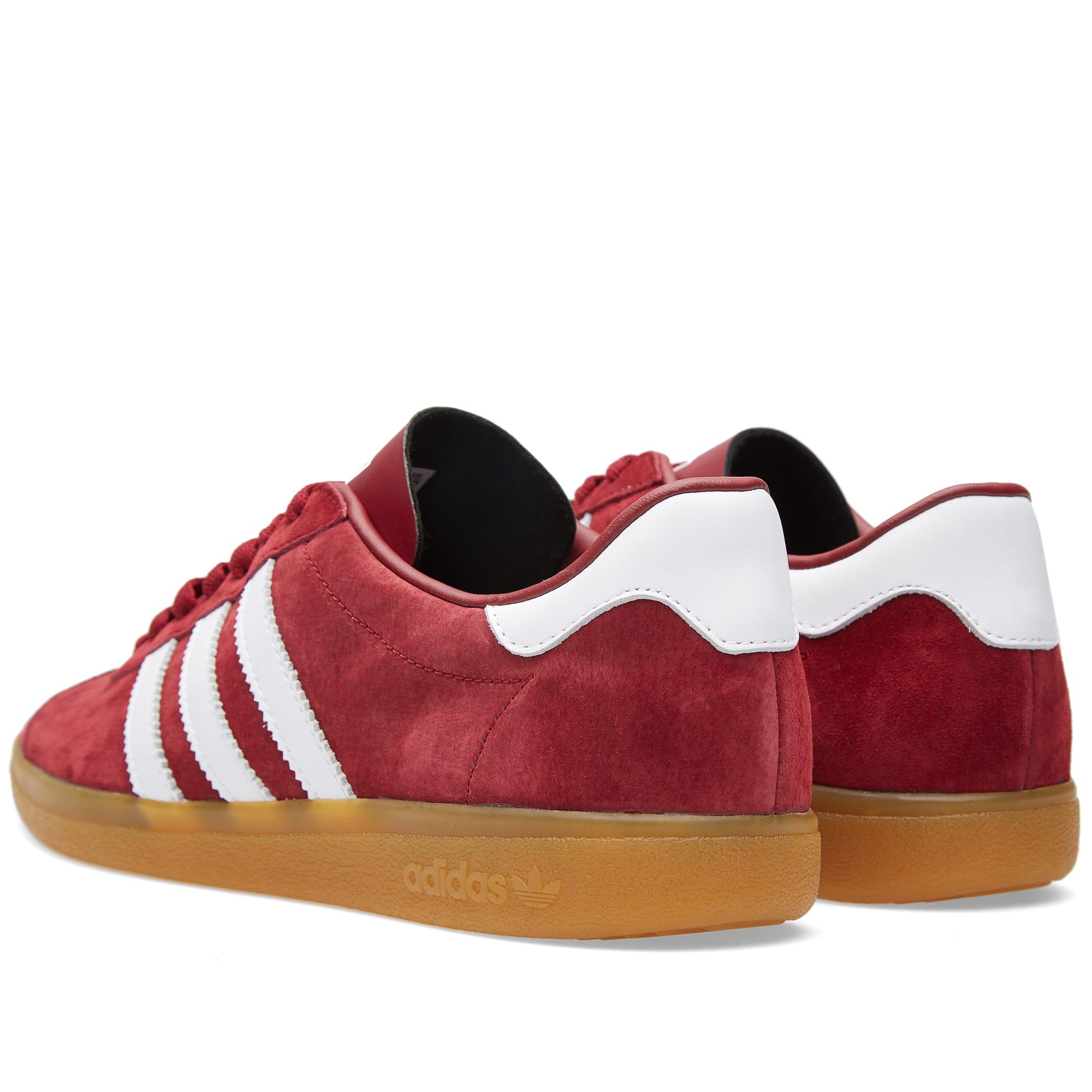 Adidas Samoa Dark Red, White \u0026 Gum | END.