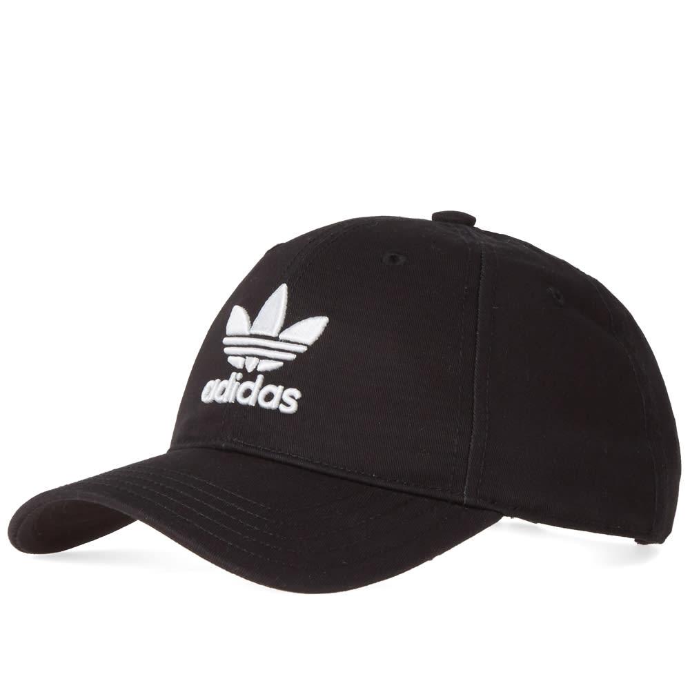 30d1a6dd22f Adidas Trefoil Cap Black