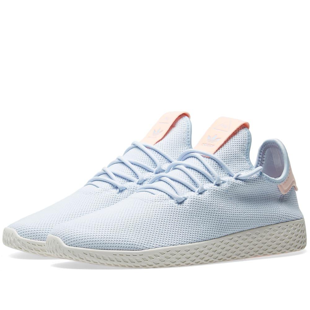 c18a9b167ce67 Adidas x Pharrell Williams Tennis HU W Aero Blue   Chalk White