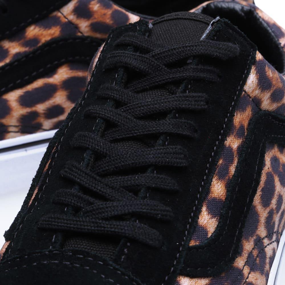 Vans Old Skool Suede Leopard (BlackTrue White) buy online