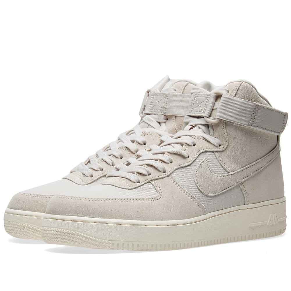 nike air force high 1 grey