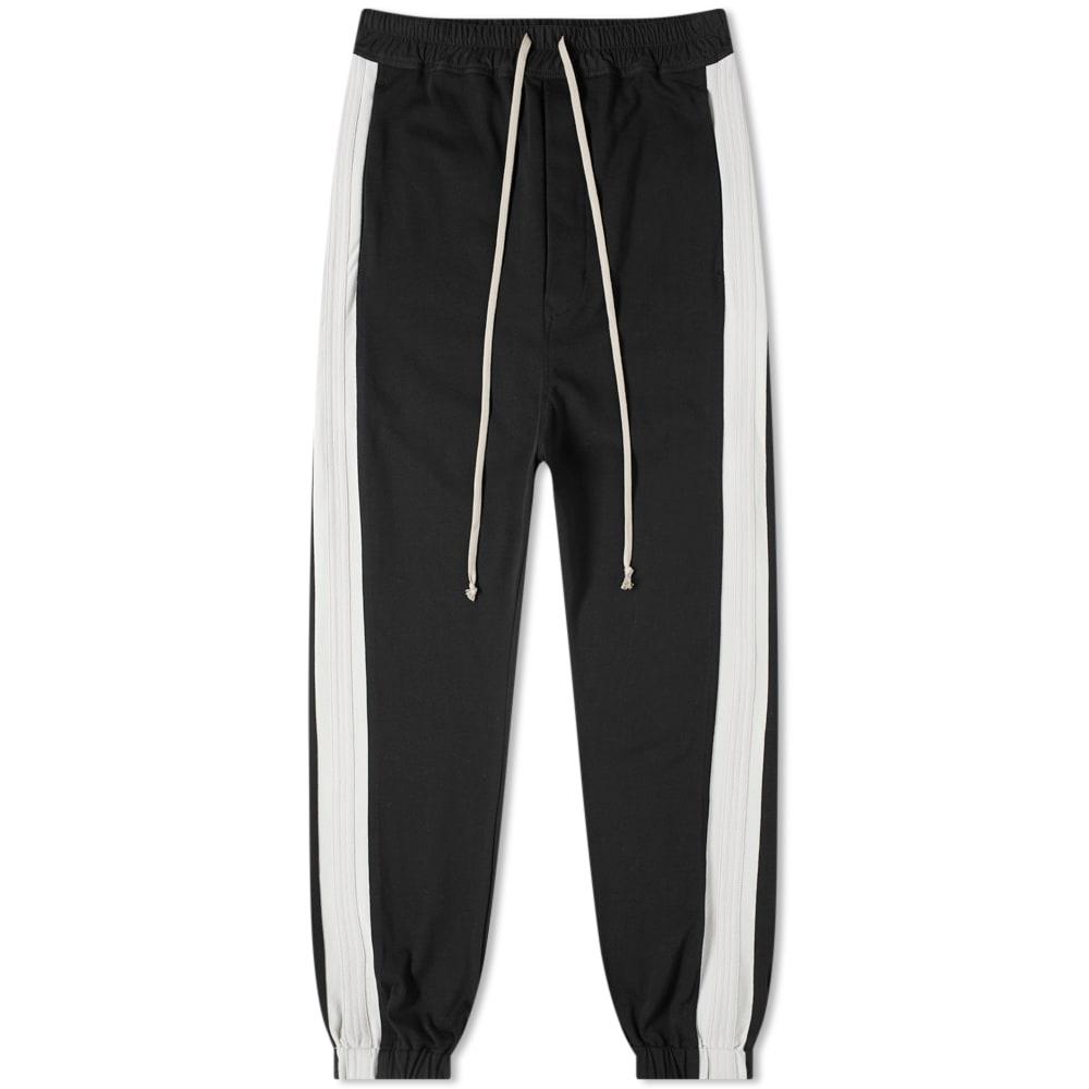 Rick Owens Track Pant In Black